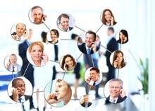 Professionnels en communication téléphonique