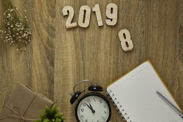 Commencez l'année 2019 avec de bonnes résolutions !