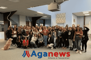 Photo équipe Agaphone pour Aganews