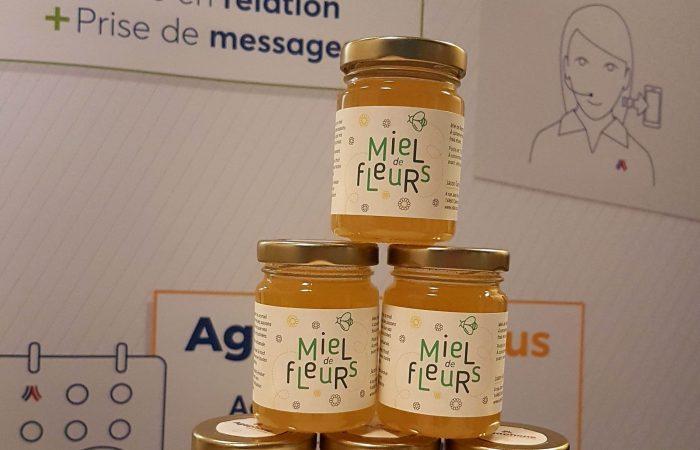 photo pots de miel